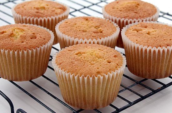 طرز تهیه کاپ کیک ساده و خوشمزه