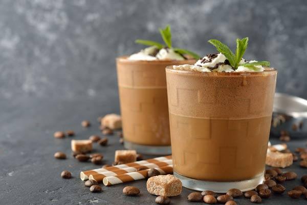 میلک شیک قهوه