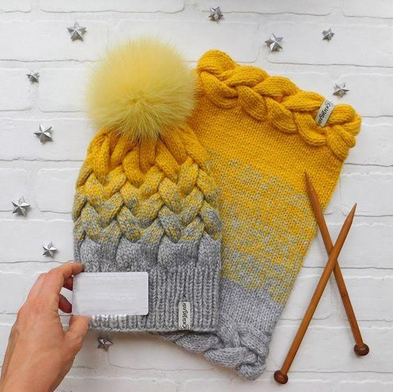 مدل کلاه بافتنی دخترانه زمستانی