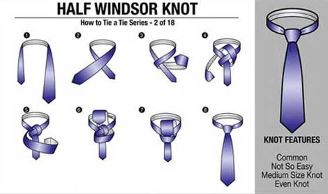 مدل بستن کراوات,آموزش بستن کروات