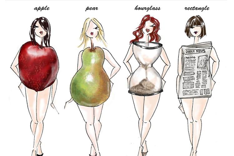 چگونه لباس ها را بر اساس تیپ بدنی انتخاب کنیم؟