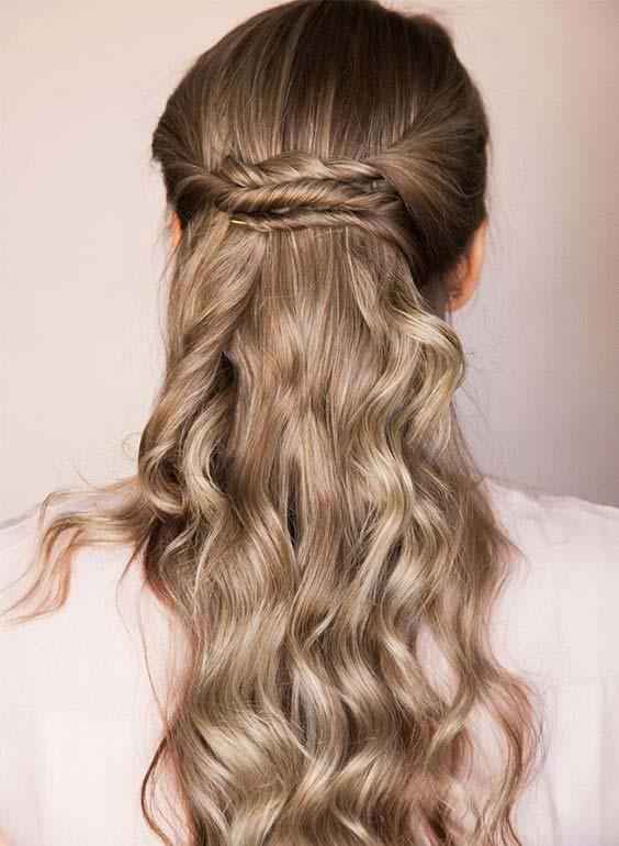 آموزش مدل بافت مو دخترانه دو طرفه ساده