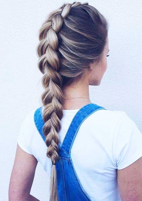 آموزش مدل بافت مو دخترانه هلندی