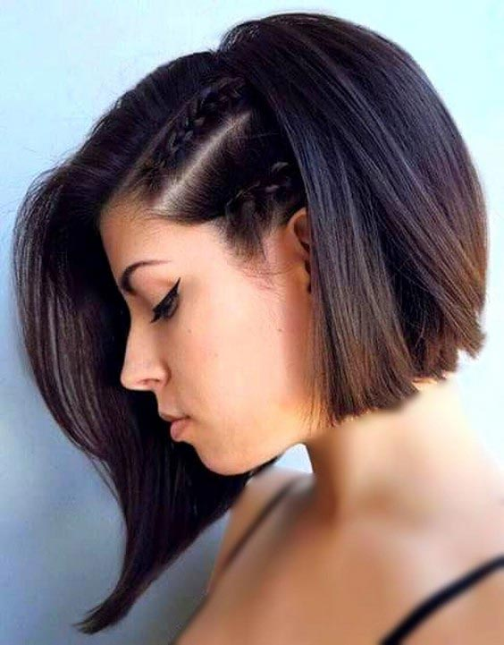 مدل بافت مو دخترانه کوتاه