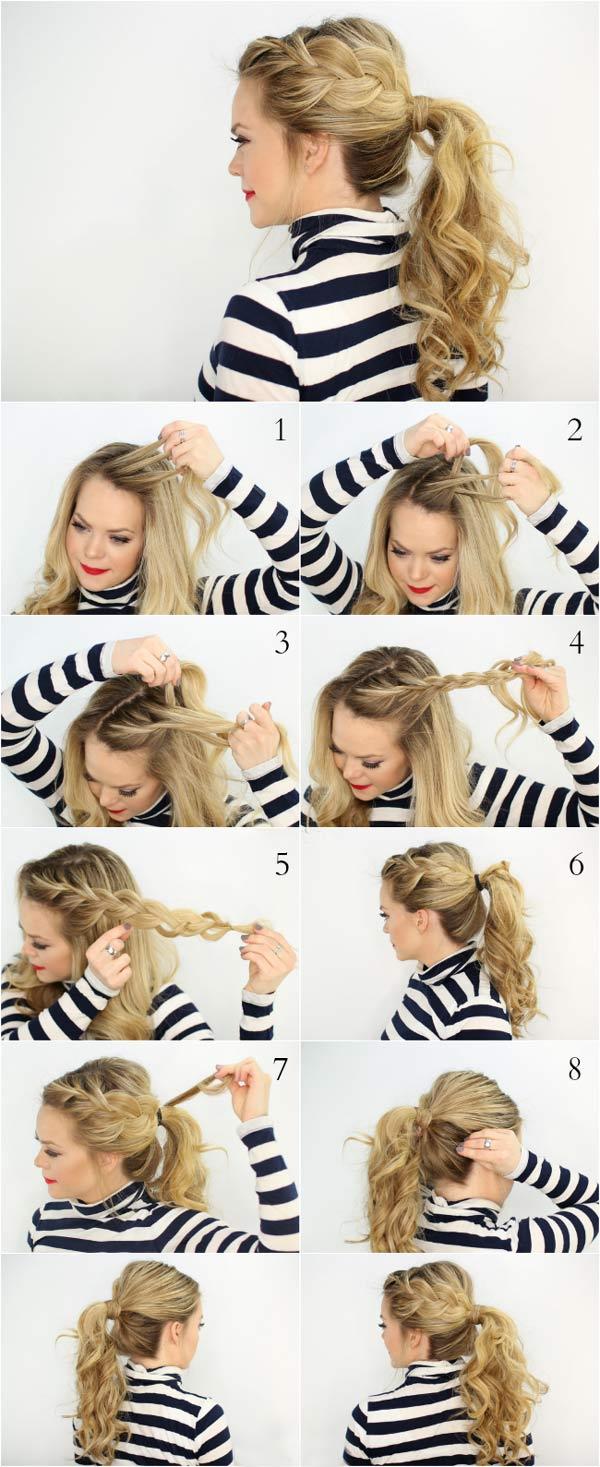 آموزش مدل بافت مو دخترانه فرانسوی