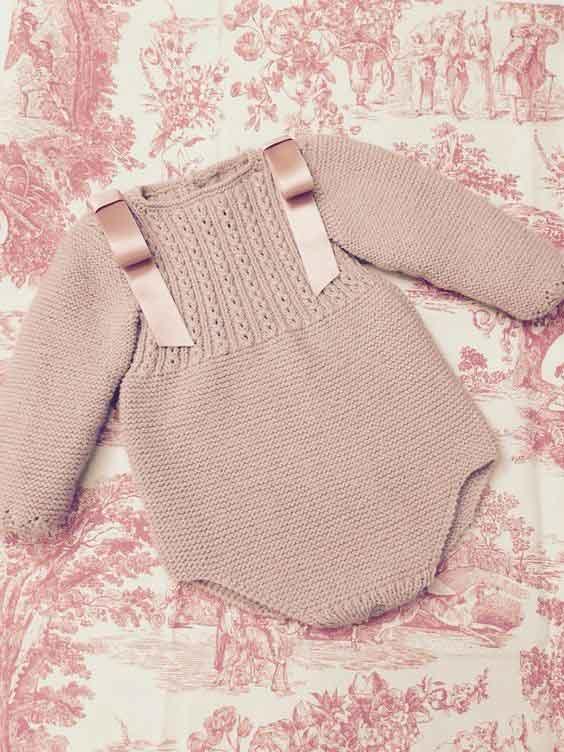 لباس نوزادی دخترانه بافتنی