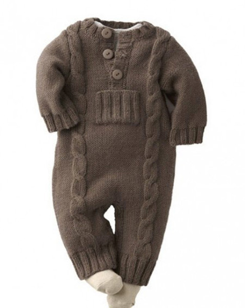 انواع مدلهای لباس بافتنی نوزاد پسر - سرهمی نوزادی