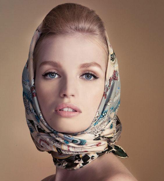 مدل مو زیر شال و روسری