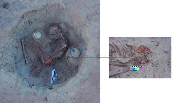 کشف گور ۳۷۰۰ ساله زن باردار در مصر