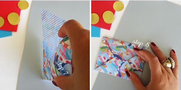 عکس ساخت پاکت کارت هدیه فانتزی