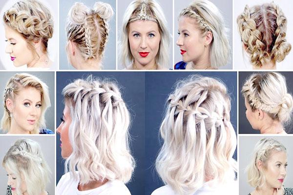 انواع بافت مو برای موی کوتاه