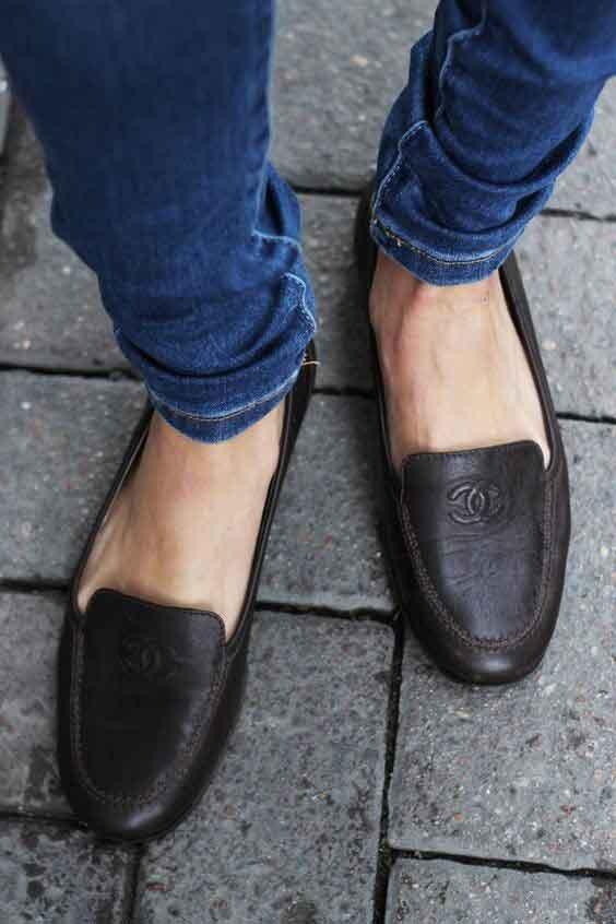 مدل کفش کالج زنانه مشکی