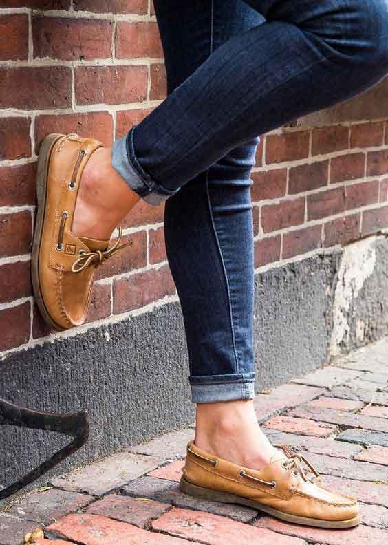 مدل کفش کالج زنانه چرم