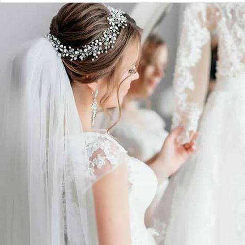 229165 534 - مدلهای جدید تاج عروس