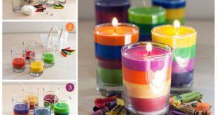 making2 candles2 candlestick1 1 310x165 - درست کردن شمع با مدادشمعی و پارافین