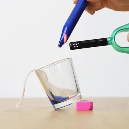 ساخت شمع با مدادشمعی,ساخت شمع های رنگی