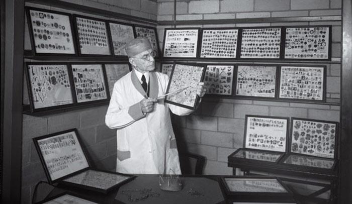 اشیای خارج شده از بدن انسان در موزه ماتر