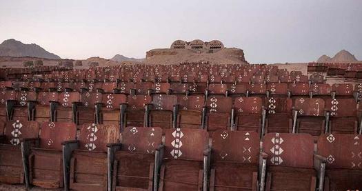 5 2 - سینمایی متروکه و ترسناک در صحرای سینای مصر