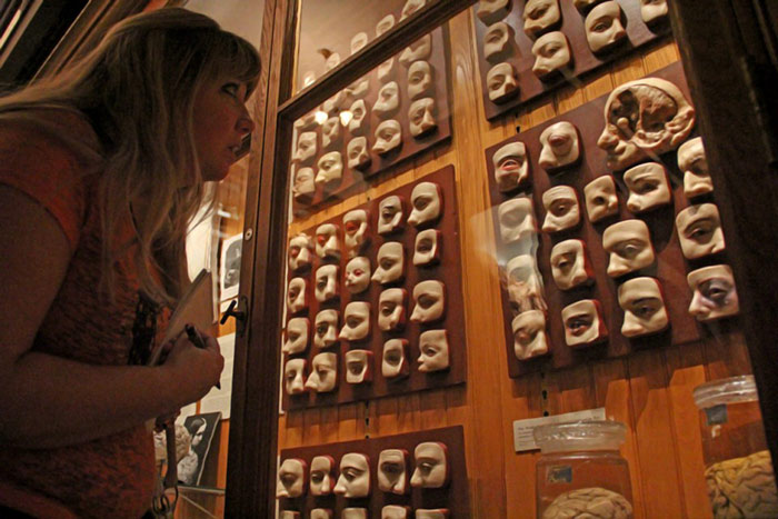 دیوار چشم در موزه ماتر