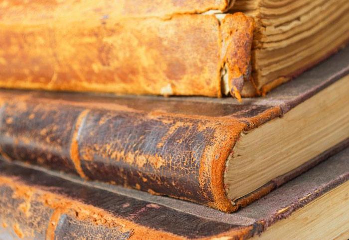 کتابهای جلد شده با پوست بدن انسان