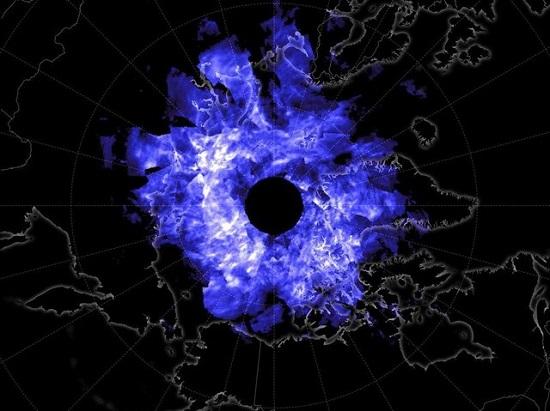 دید ماهوارهای از ابرها