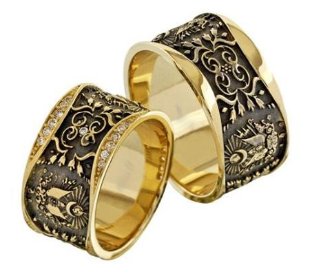 set3 engagement3 rings35 - جدیدترین حلقه های نامزدی
