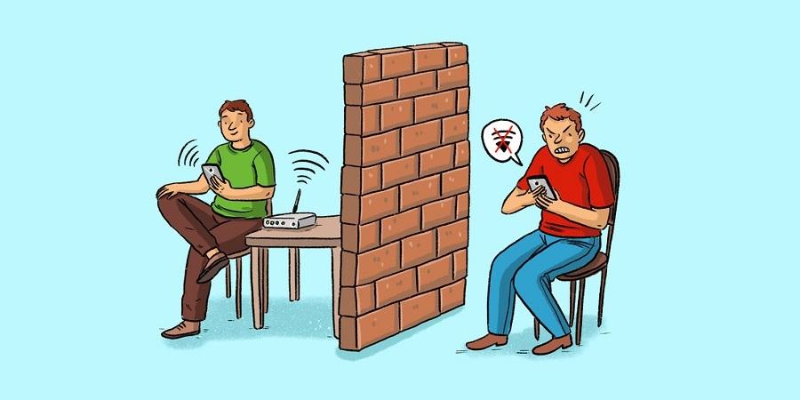 1561453061 - دلایل ضعیف شدن اینترنت مودم در خانه میشد+راهکار