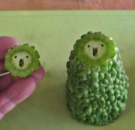 268907 444 - تصاویر جالب و خنده دار از میوه ها