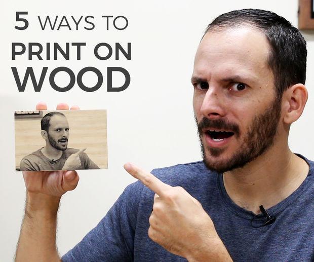 choob 1 - چاپ عکس روی چوب به چند روش ساده