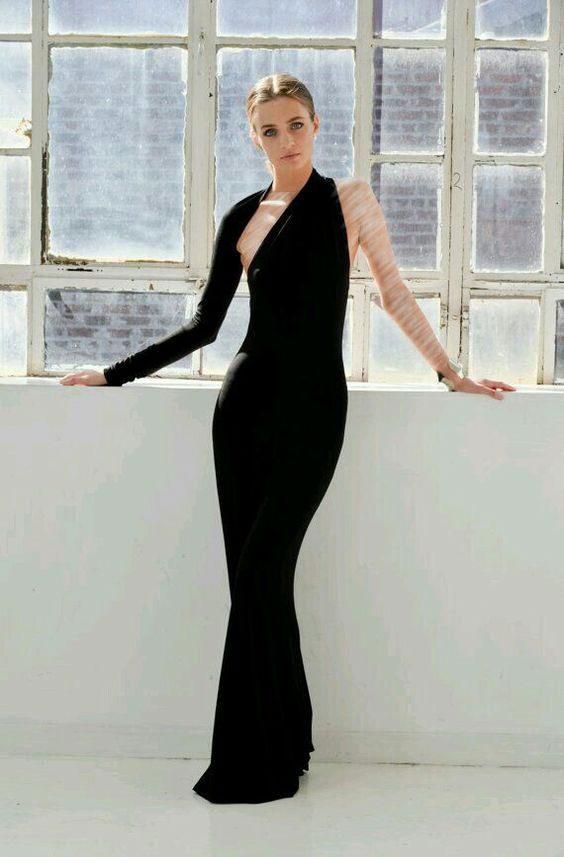 مدل لباس مجلسی بلند 2018