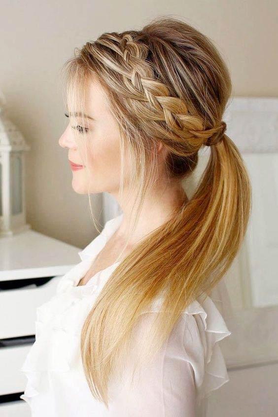 مدل بافت مو دخترانه فرانسوی