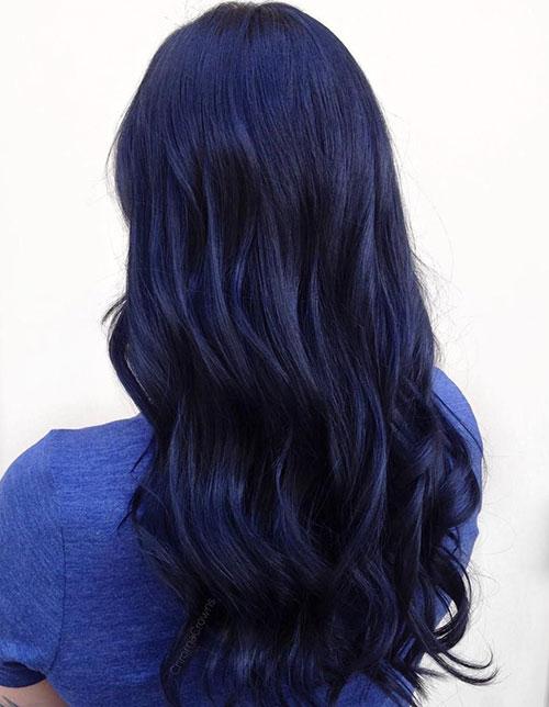 رنگ موی سرمهای