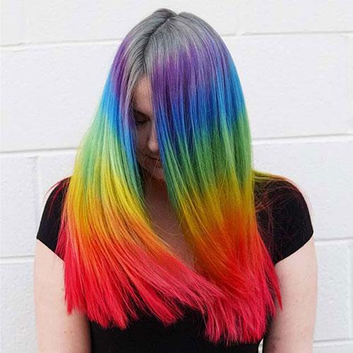 رنگ موی فانتزی ژله ای