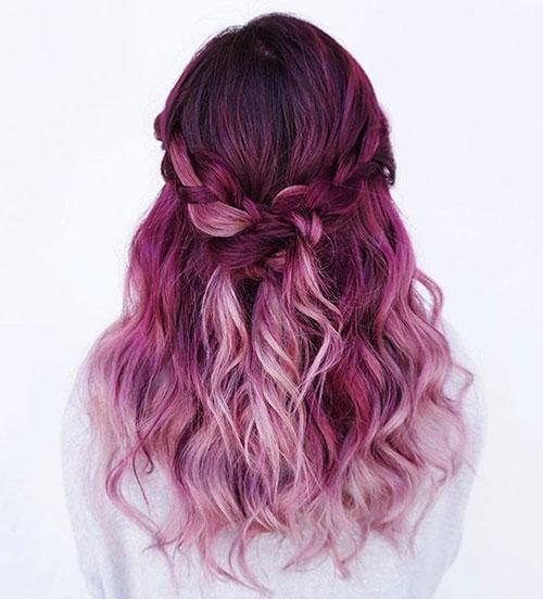 رنگ موی جدید فانتزی