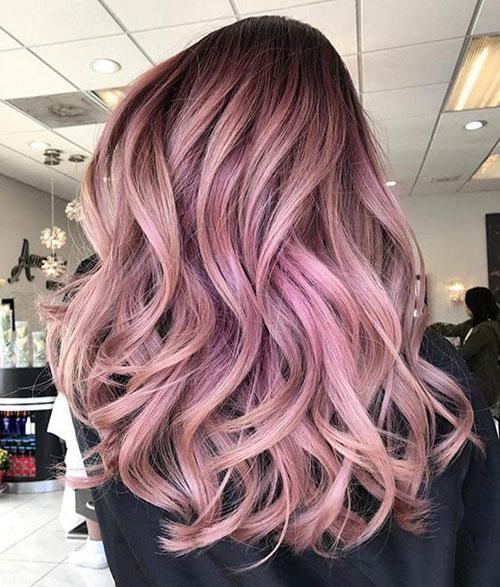 رنگ موی زیبای فانتزی