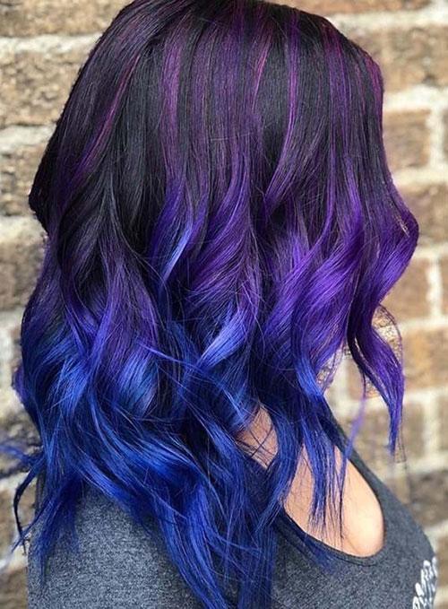 رنگ های فانتزی مو