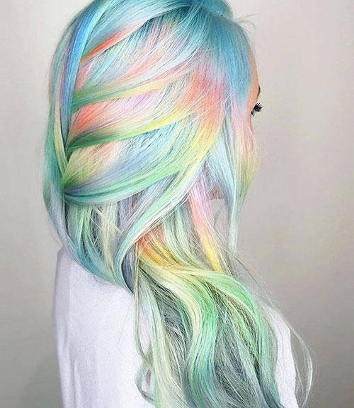 رنگ موی شیک فانتزی