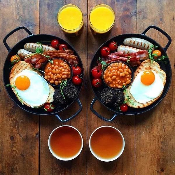 تزیین میز صبحانه خاص برای عروس