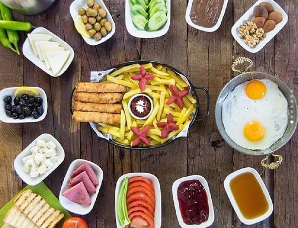 صبحانه کامل برای عروس