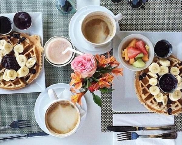 صبحانه سالم برای عروس