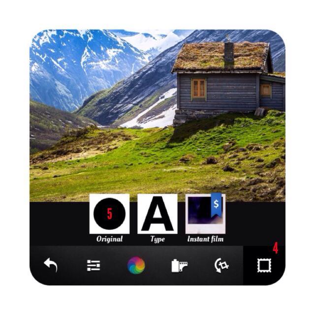insta 5 - آموزش تصویری گرد کردن تصاویر اینستاگرام با اپلیکیشن Afterlight