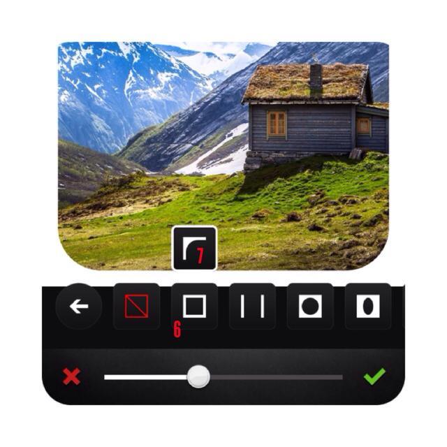 insta 6 - آموزش تصویری گرد کردن تصاویر اینستاگرام با اپلیکیشن Afterlight
