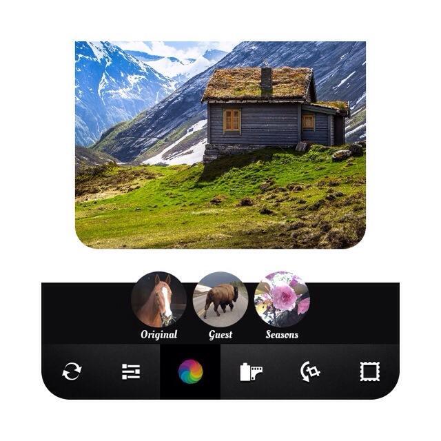 insta 8 - آموزش تصویری گرد کردن تصاویر اینستاگرام با اپلیکیشن Afterlight