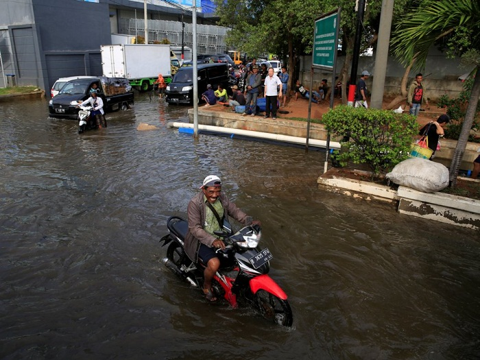 زیر آب رفتن شهرها