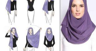 180727 525 310x165 - آموزش تصویری و گام به گام بستن روسری لبنانی