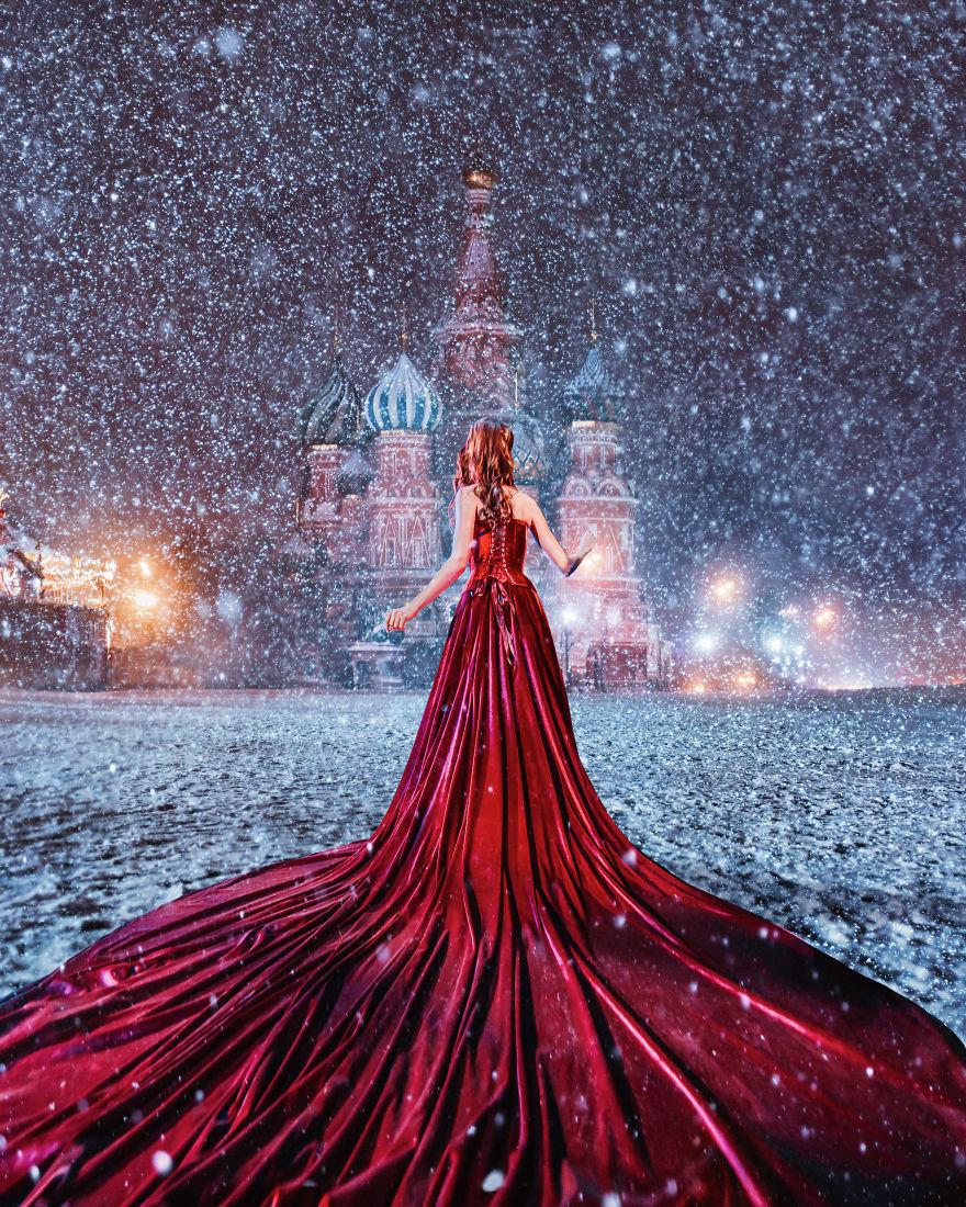 11 2 - لباسهای زیبا و طراحی بینظیر در زیباترین مکانهای گردشگری دنیا