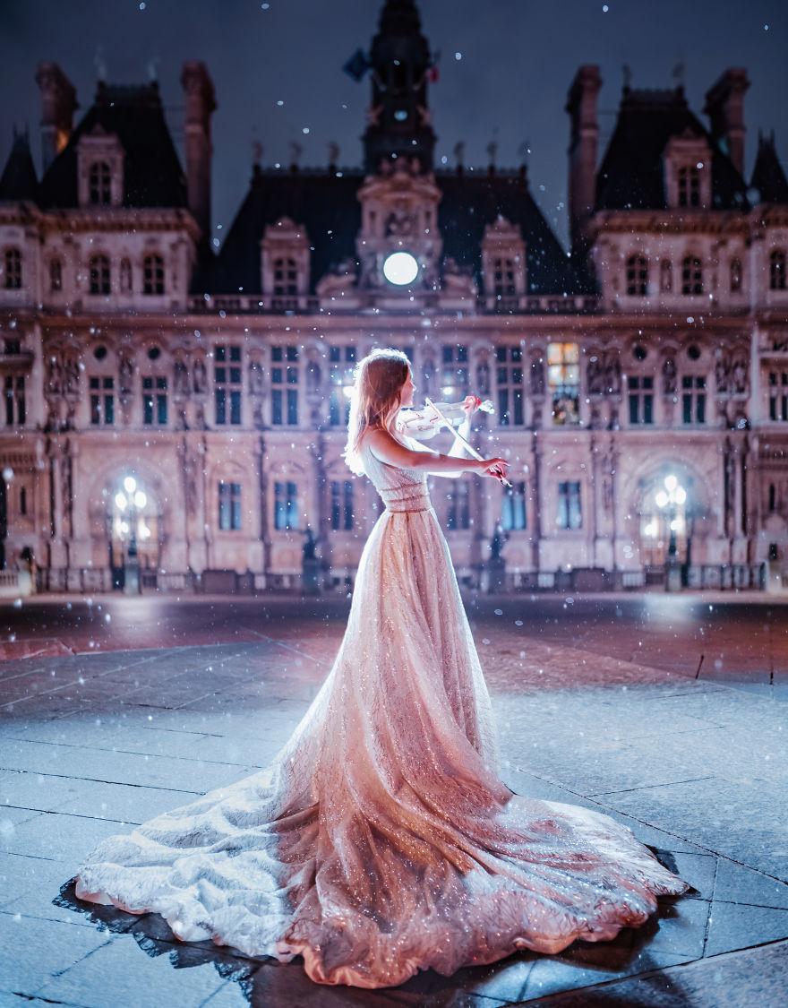 3 4 - لباسهای زیبا و طراحی بینظیر در زیباترین مکانهای گردشگری دنیا