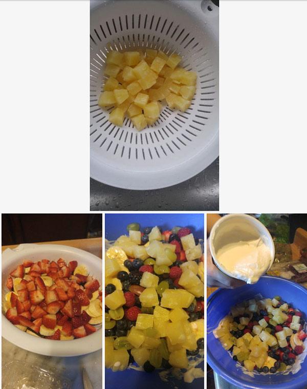 pie 5 - آموزش تصویری تهیه پای میوه