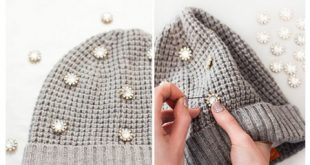decorating1 simple2 knit2 hat4 310x165 - آموزش تصویری دو مدل تزیین کلاه بافتنی