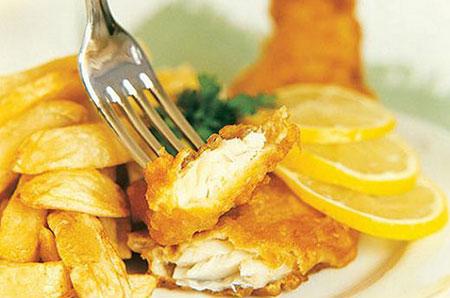 fo2559 - طرز تهیه فیش اند چیپس fish and chips